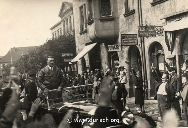 Adolf Hitler in Durlach - 1933