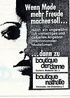 1977 Boutique der Dame